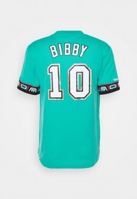 Mitchell & Ness - NBA VANCOUVER GRIZZLIES MIKE BIBBY NAME NUMBER CREWNECK - Article de supporter - teal - 8