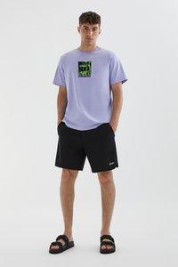PULL&BEAR - STAY UNITED - Print T-shirt - light pink - 1