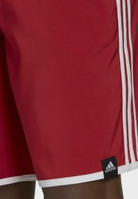 adidas Performance - 3-STRIPES CLASSICS CL SWIM SPORTS MUST HAVES PRIMEGREEN SHORTS - Swimming shorts - red - 4