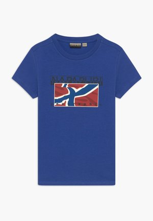 SALLYN - Print T-shirt - ultramarine