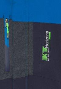 Killtec - GLENSHEE BYS - Snowboardová bunda - neon blue - 3