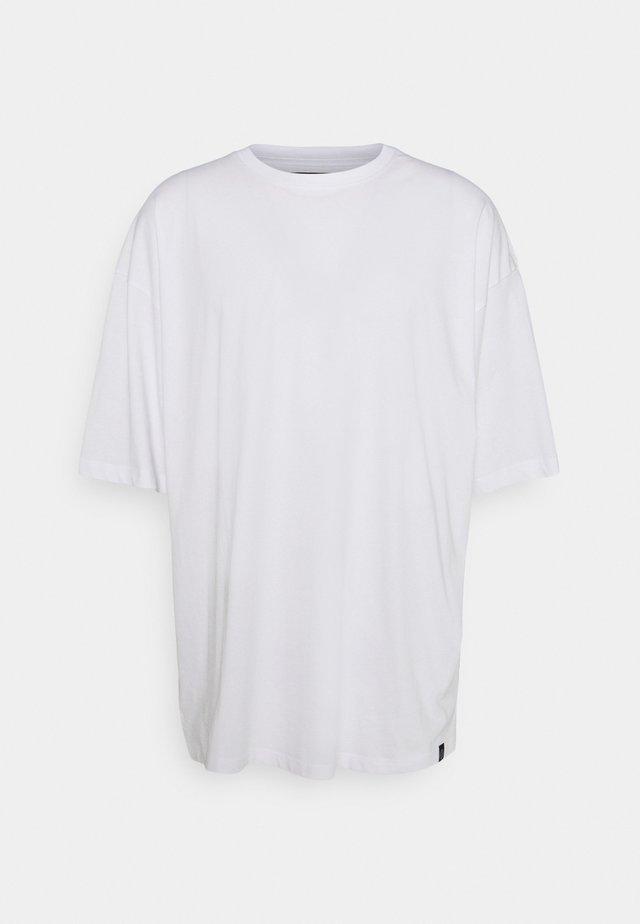 OVERSIZED TEE BIGUNI - Basic T-shirt - white