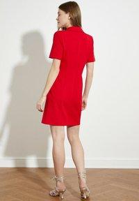 Trendyol - PARENT - Shirt dress - red - 1