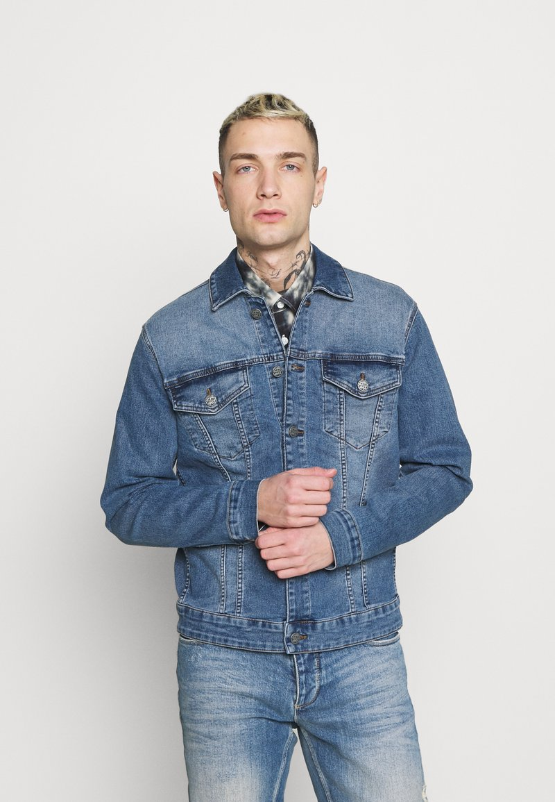 Only & Sons - ONSCOME LIFE TRUCKER - Jeansjacka - blue denim