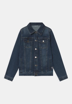 CORE JUNIOR - Denim jacket - deep light denim