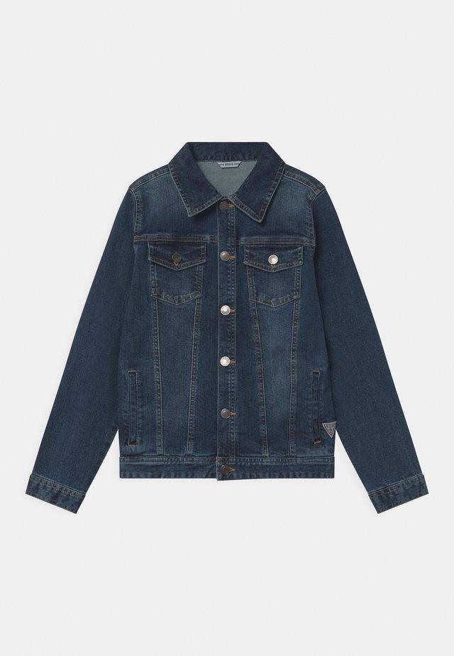 CORE JUNIOR - Giacca di jeans - deep light denim