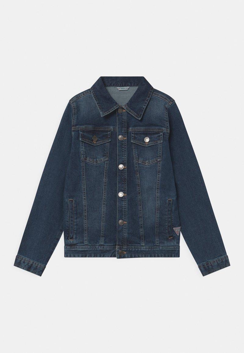 Guess - CORE JUNIOR - Denim jacket - deep light denim