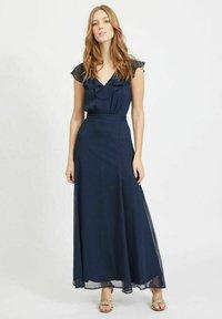 Vila - Maxi dress - navy blazer - 0