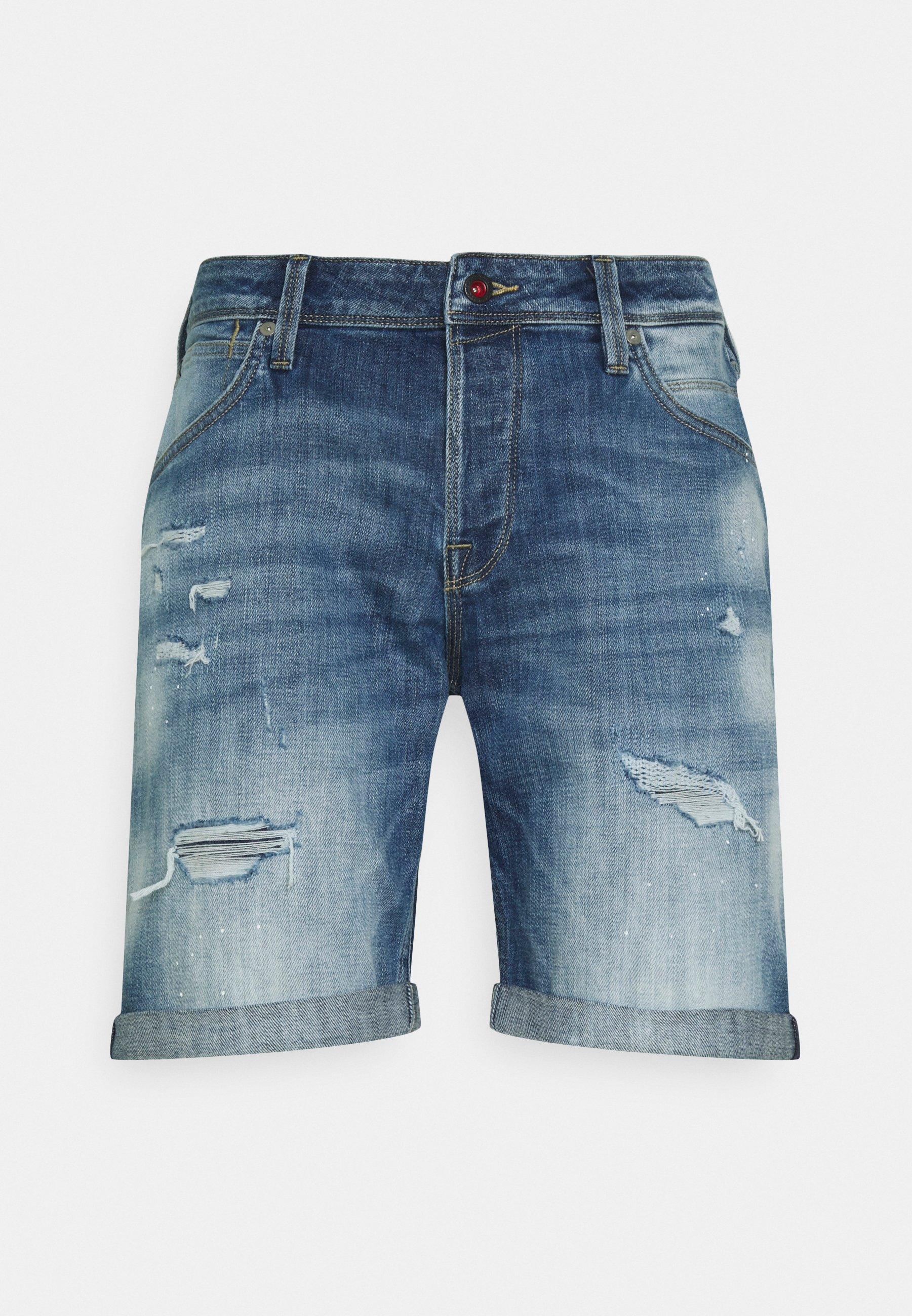 Uomo JJIRICK JJFOXSHORTS - Shorts di jeans