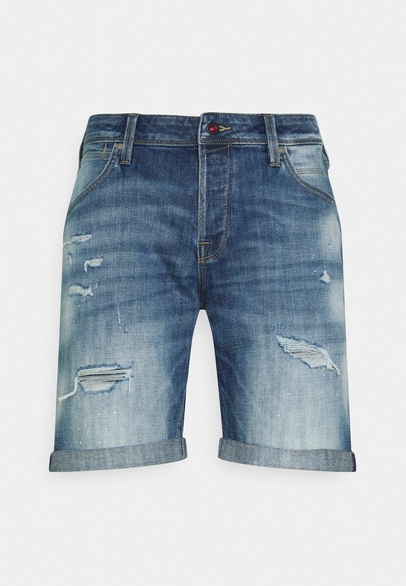 Jack & Jones - JJIRICK JJFOXSHORTS - Short en jean - blue denim
