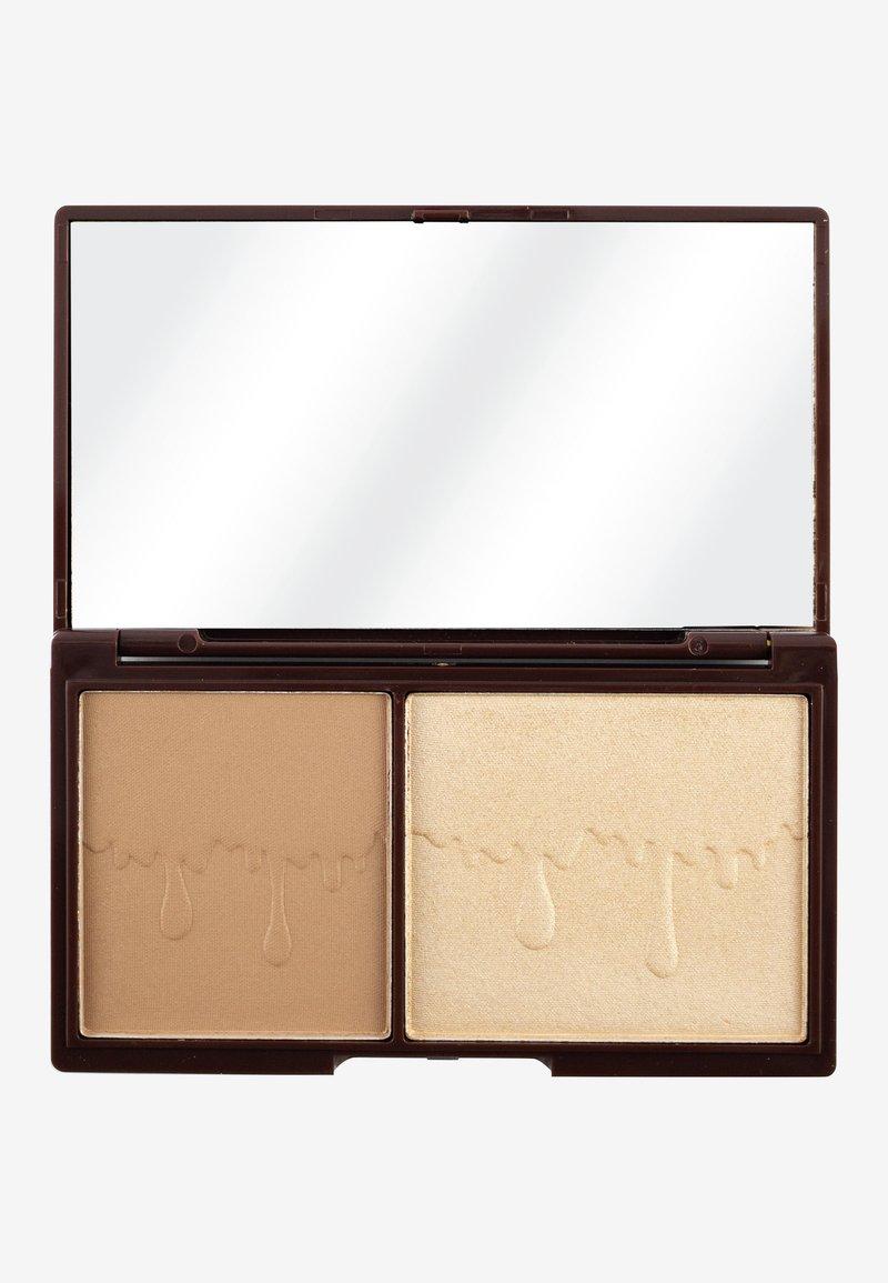 I Heart Revolution - I HEART CHOCOLATE BRONZE AND GLOW - Eyeshadow palette - bronze