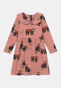Lindex - MINI DRESS BIG COLLAR RED PANDA - Jersey dress - dusty pink - 0