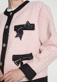 Sister Jane - SECRET GARDEN TWEED CARDIGAN - Cardigan - pink - 4