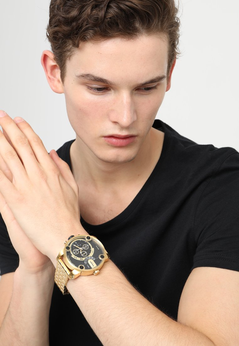 Diesel - LITTLE DADDY - Chronograph - gold-coloured