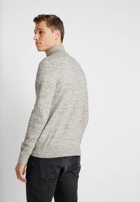 GAP - MOCK NECK - Jersey de punto - medium grey - 2