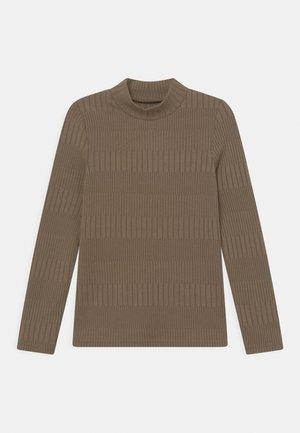 NKFLETAL - Long sleeved top - stone gray