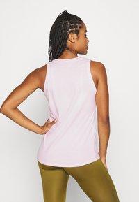 Nike Performance - DRY TANK FEMME - Camiseta de deporte - pink foam - 2