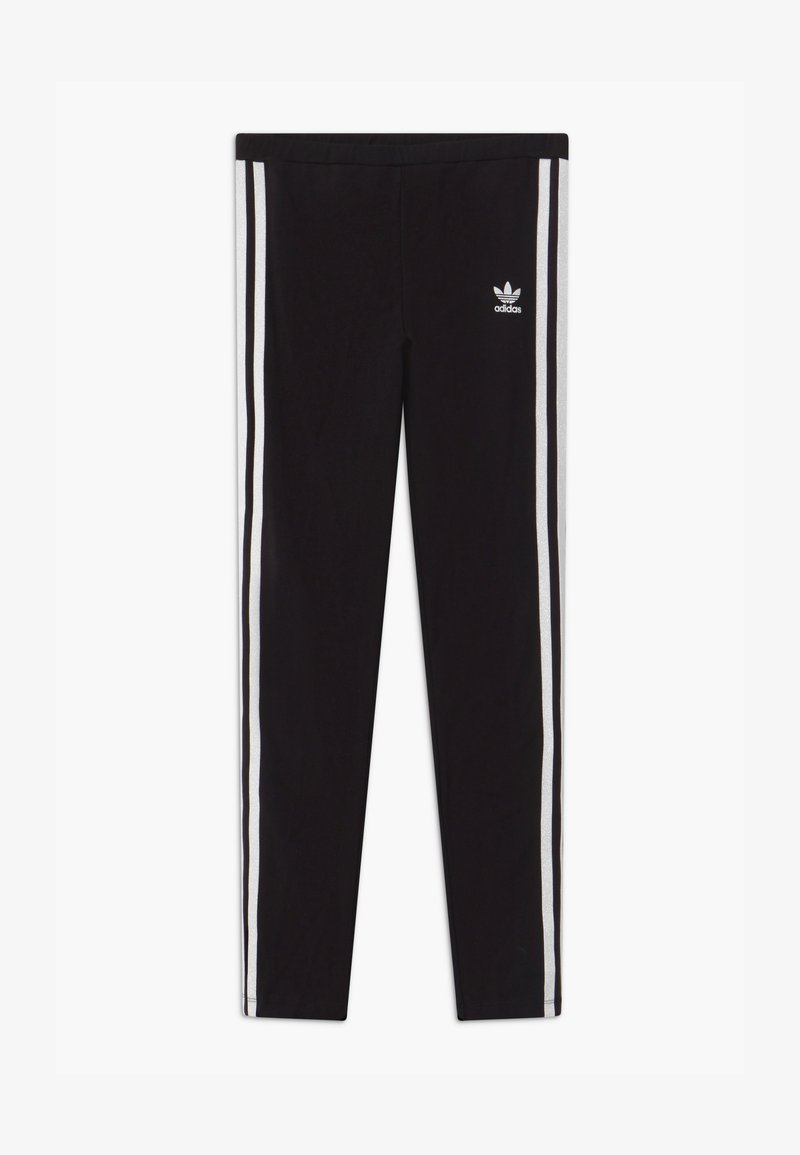 adidas Originals - SOLID - Legginsy - black/white