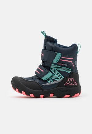 TEX UNISEX - Winter boots - navy/pink