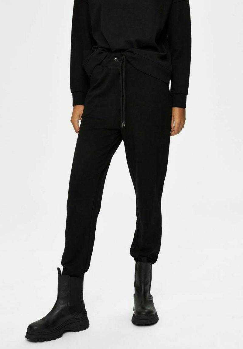 Selected Femme - Verryttelyhousut - black