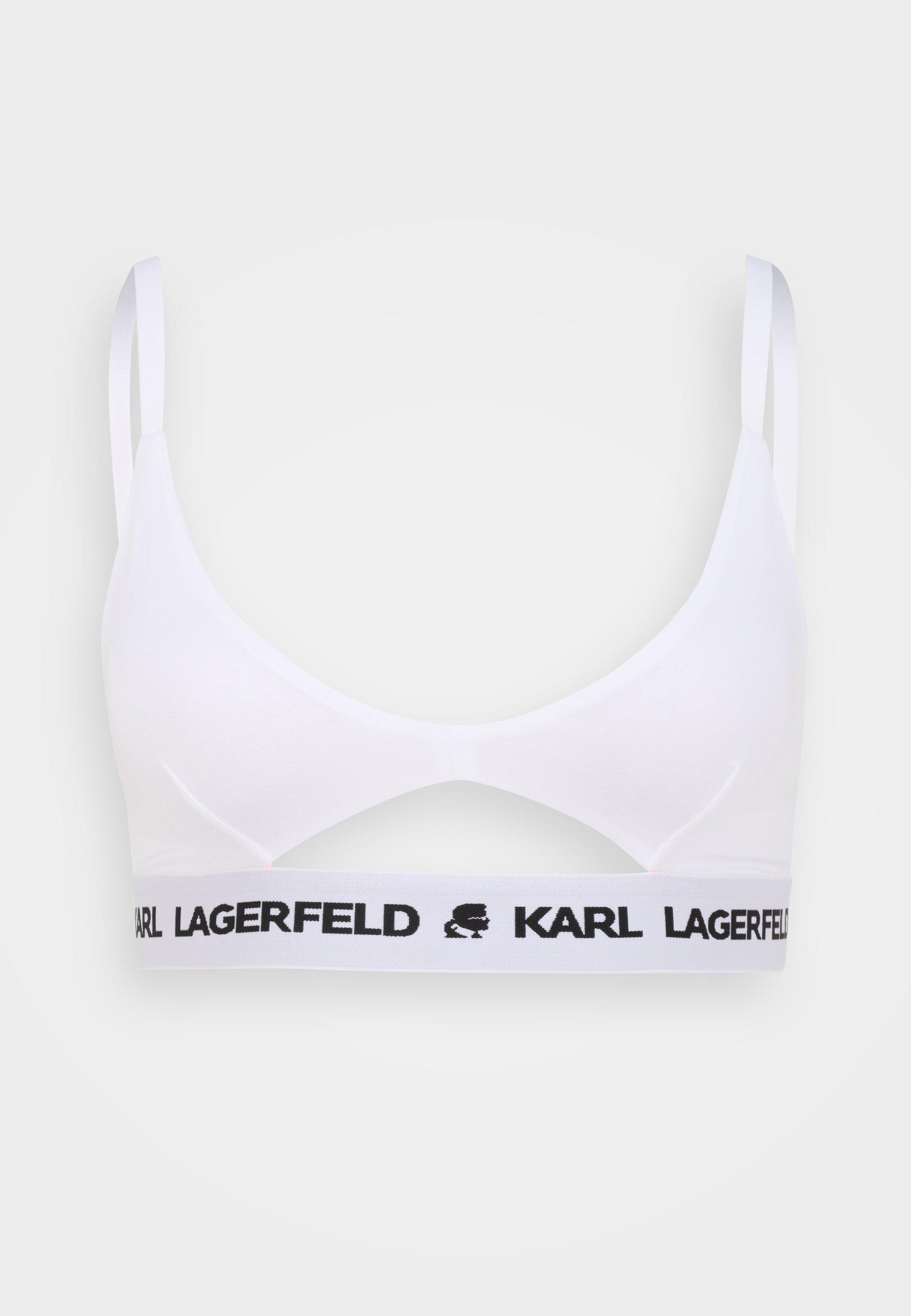 Women LOGO PEEPHOLE BRALETTE - Triangle bra