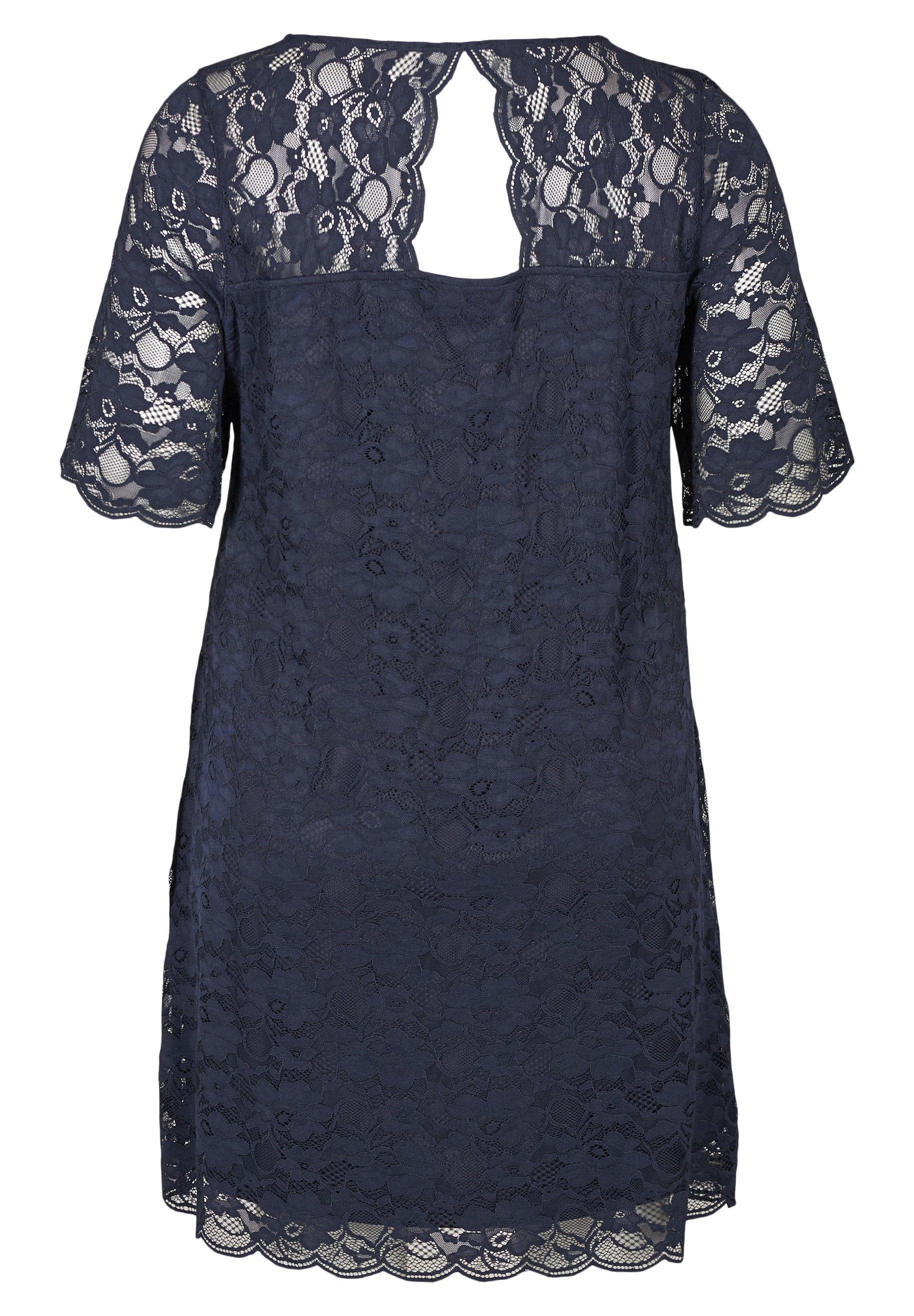 Zizzi Cocktailkleid/festliches Kleid blue/blau