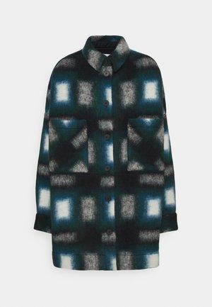 HARWEL - Short coat - ecru/green