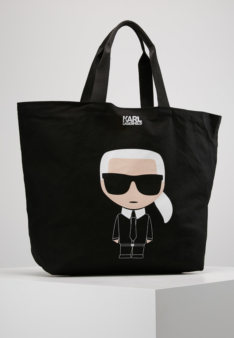 KARL LAGERFELD - IKONIK - Bolso shopping - black