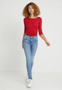 Esprit - Maglietta a manica lunga - dark red - 1