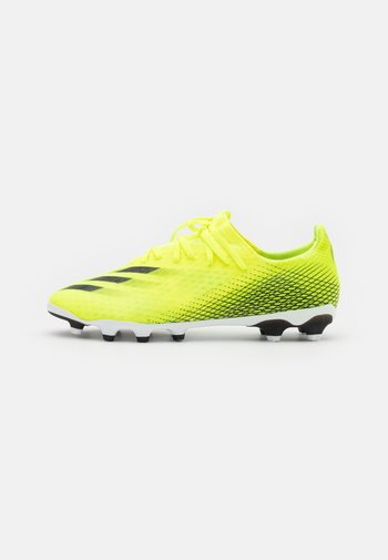 X GHOSTED.3 MG - Moulded stud football boots - solar yellow/core black/royal blue
