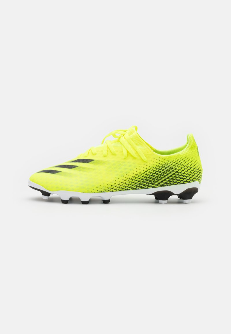 adidas Performance - X GHOSTED.3 MG - Kopačky lisovky - solar yellow/core black/royal blue