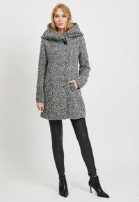 Vila - Short coat - light grey melange - 1