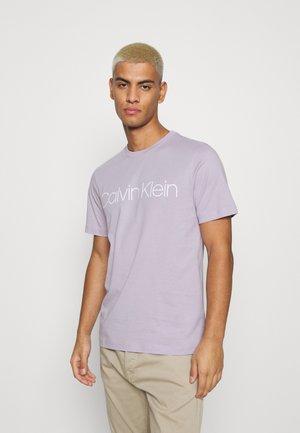 FRONT LOGO - Print T-shirt - purple