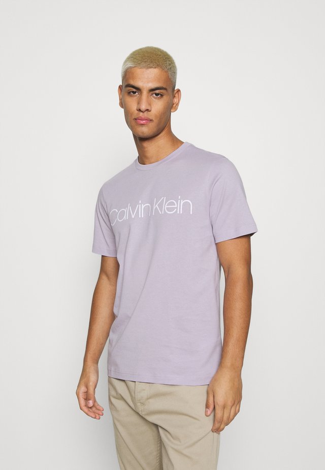 FRONT LOGO - T-shirt imprimé - purple