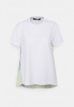 ORGANZA BACK - T-Shirt print - white