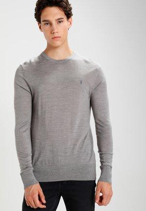 MODE CREW - Jumper - putty grey marl