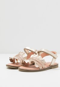 Friboo - LEATHER - Sandales - gold - 3