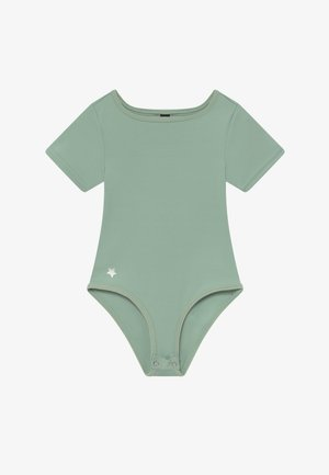 GIRLS BALLET LEOTARD - trikot na gymnastiku - sage green