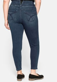 Sheego - Slim fit jeans - dark blue denim - 2