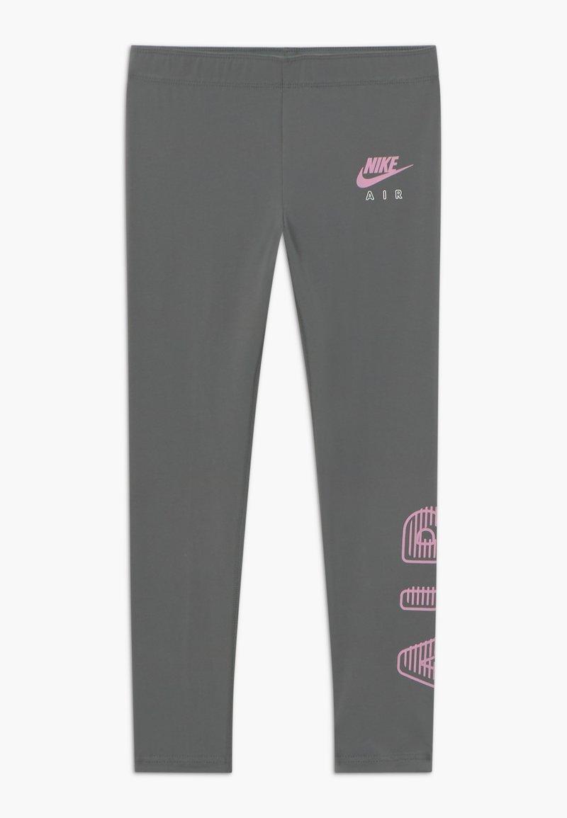 Nike Sportswear - AIR FAVORITES - Leggings - Trousers - carbon heather/arctic pink