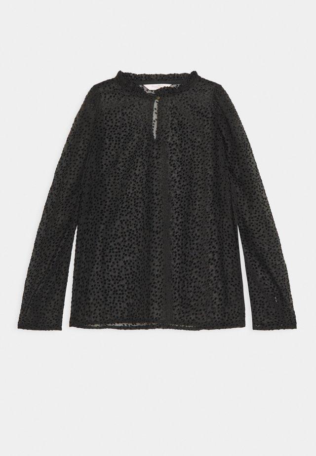 FUIA - Bluzka z długim rękawem - black