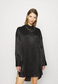 10DAYS - TUNIC DRESS - Day dress - black - 0