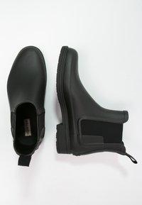 Hunter ORIGINAL - MENS ORIGINAL REFINED CHELSEA - Botas de agua - black - 1