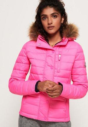 MIT DOPPELREISSVERSCHLUSS - Winterjas - pink