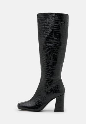 STIVALE TACCO ALTO - High heeled boots - nero