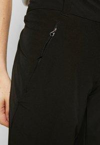 The North Face - WOMEN HIKESTELLER PANT - Friluftsbukser - black - 4