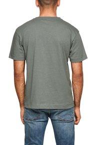 s.Oliver - Print T-shirt - petrol - 5
