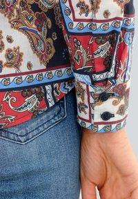 Alba Moda - Button-down blouse - marineblau,rot,weiß - 2