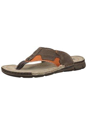 JOSEF SEIBEL - T-bar sandals - Orange