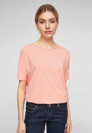 Basic T-shirt - apricot